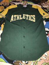 Vintage 90s Starter Oakland A's Sewn Logo Team Jersey Men Medium