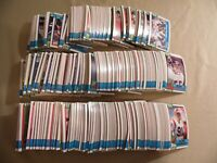 Lot of 600+ 1990 Football Trading Cards / Free Domestic Shipping