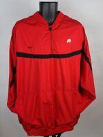 Nike Red 1/4 Zip Long Sleeve Utah Utes Size 3XL Pullover Jacket