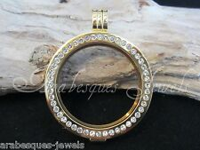 SMALL GENUINE STERLINA MI MILANO Reversible keeper for coin/moneda necklace ajmm