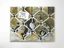 Border Fine Arts Studio - Border Collies & Pups Memo Message Board  NEW  19808