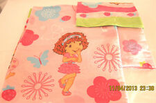 STRAWBERRY SHORTCAKE BEDDING flat/ fitted sheet & pillowcase Fabric
