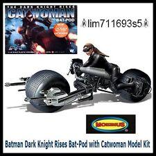 Batman Dark Knight Rises Bat-Pod with Catwoman Model Kit 1:18 Scale - NEW!!