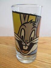"1994 Warner Bros Daffy Duck and Bugs Bunny 5.5"" Glass"