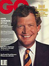 GQ MAGAZINE  June 1990 6/90 DAVID LETTERMAN C-4-3