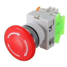 600V 10A Aus Schalter Notausschalter Emergency Stop Switch Pushbutton GY