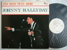 PROMO WHITE LABEL / JOHNNY HALLYDAY ITSY BITSY PETIT BIKINI / MINT VINYL GATEFOL
