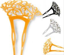 Acrylic Sakura Hairpin Tuck comb Kanzashi Japanese for Kimono Geisha Bride Gift