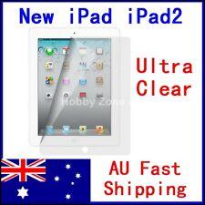 New iPad iPad 3 iPad 2 Screen Protector Ultra clear Thin Film Guard Cover