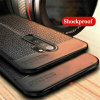 For Xiaomi Redmi Note 9S 8 7 6 5 Pro 8T Shockproof Soft TPU Leather Case Cover