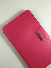 FUNDA CARCASA PARA TABLET S7 HUAWEI MEDIAPAD 7 YOUTH CIERRE IMAN COLOR ROSA
