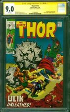 Thor 173 CGC SS 9.0 Stan Lee vs Circus Crime Ringmaster Ulik Jack Kirby Cover WP