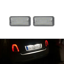 For Fiat 500 Abarth 2007-2016 CANbus Xenon White Led Number License Plate Lights