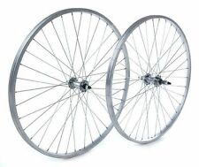 Tru-build Wheels 26x1.75 Rear Wheel Steel hub Silver screw on Silver 26 inch