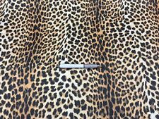 Printed Leopard pattern Jacket/Blazer LINING fabric. Gold White Black color