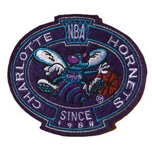 "CHARLOTTE HORNETS NBA BASKETBALL SINCE 1988 VINTAGE 3.25"" TEAM PATCH"