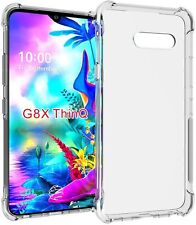LG G8X ThinQ Soft TPU Crystal Clear Slim Anti Slip Shockproof Protective Case
