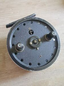 Allcocks Flick-Em Perfection 4'' Centrepin Fishing Reel In Excellent Condition