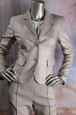 $3675 New AKRIS Beige Camel Hair Cashmere Silk Texas Blazer Jacket 4 34