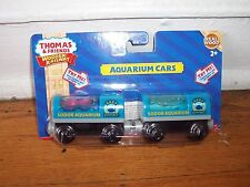 NEW IN BOX Thomas and friends wooden AQUARIUM CARS