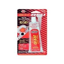 Hi-Temp Red Silicone Gasket ideal for brembo brake caliper covers 3 oz.high temp