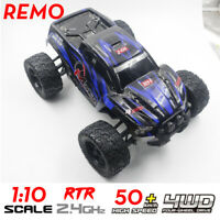 REMO 1031 1/10 Scale 4WD 2.4GHz RC Model Car High Speed Monster Truck RTR Gift