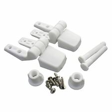 Master Plumber 479-568 White Toilet Seat Hinge Replacement Part