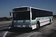 Downers Grove Commuter Shuttle Gillig bus Kodak Kodachrome original slide