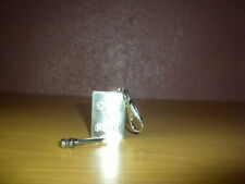 Permanent Match Cigarette Lighter Key chain ~ Stainless Steel Shipped from USA!