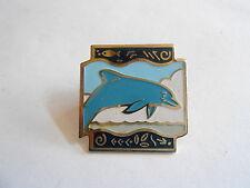 Vintage 1992 Shopko Stores Enamel Dolphin Hat or Lapel Pin