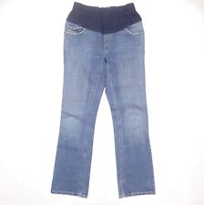 Levi Strauss Signature Womens Maternity Stretch Bootcut Blue Jeans Misses Size 4