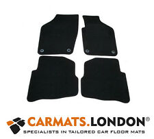 Volkswagen Polo 2006 - 2009 Tailored Fitted Car Floor Mats (Oval Clips)