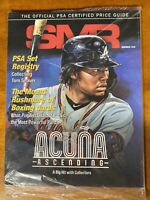 NEW Sports Market Report SMR PSA November 2020 Magazine Ronald Acuna Jr. Sealed
