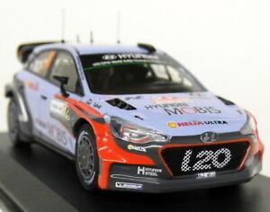 PCT 1/43 Hyundai i20 WRC Winner Italia Sardegna Rally 16 Diecast Scale Model Car