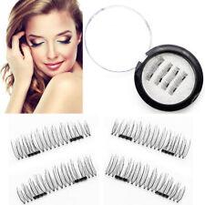 Künstliche Magnet Wimpern 3D Eyelashes in Box mit 2 Magneten Magnetische Make-up