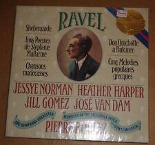 Norman/Harper/Gomez/van Dam/Boulez RAVEL Songs - CBS M 39023 SEALED