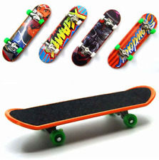 1pcs Fingerboard Mini Finger Skateboard Plastic Finger Skate Scooter Throwbacks