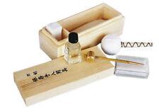 Battle Merchant Pflegeset für japanische Klingen in Holzkiste Schwertpflegeset
