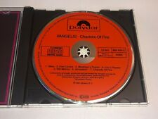 Chariots of Fire movie soundtrack CD Vangelis West Germany with orange/red face