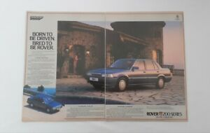 Rover 213 Advert from 1984 - Classic Ad Advertisement