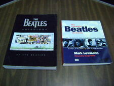LOT OF 2 Beatles Books: The Beatles Anthology  & The Complete Beatles Chronicle
