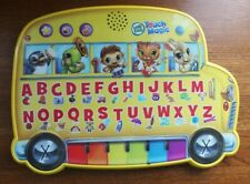 Leap Frog Magic Touch Bus Alphabet Phonics Letters Music Words Instruments