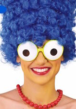 Bulging Cartoon Eyes Fancy Dress Round Glasses Simpson Homer Lisa Marg Bart 90's