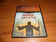 Biblical Collectors Series - Moses: Man of God (DVD, Full Frame 2006) Used