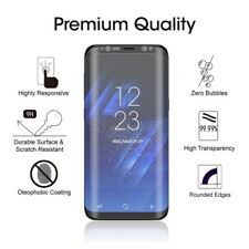 For Samsung Galaxy S8 CASE FRIENDLY 5D HD Tempered Glass Screen Protector