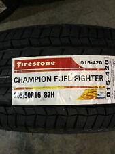 1 New 205 50 16 Firestone Champion Fuel Fighter Tire