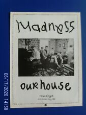 More details for madness - our house - 1982 early ska two  - poster advert 1980s original