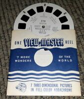 BOSTON MASSACHUSETTS statehouse bunker hill hall # 278 Sawyers VIEW-MASTER REEL