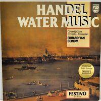 """EDUARD VAN BEINUM   """"Handel Water Music""""   Vinyl LP  Philips   6570 171"""