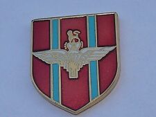 PARACHUTE REGIMENT PARAS, SERVED WITH PRIDE BRITISH ARMY UDR / RIR MOD pin badge